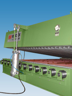 Drying tunnel: Slot nozzle dryer with book type opening